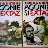 Irving Stone – Agonie si extaz {2 volume, 1993} - Roman