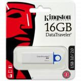 Memorie USB Kingston ,DataTraveler G4 16GB, USB 3.1/3.0/2.0, Albastru + Ambalaj Retail