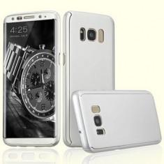 Husa fata-spate pentru Samsung S8 PLUS - Silver - Husa Telefon Samsung, Samsung Galaxy S8 Plus, Argintiu, Plastic, Carcasa