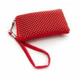 Husa Sony Ericsson Xperia Arc S Aluminium Red Size L, Textil