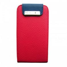 Husa iPhone 4/4S Flip Pocket Pink - Husa Telefon
