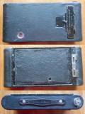 Aparat foto Kodak cu burduf , inceput de secol 20 , stare excelenta , functional