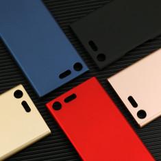 Bumper / Husa ultra subtire protectie 360° pentru Sony Xperia XZ Premium - Husa Telefon, Negru, Plastic, Carcasa