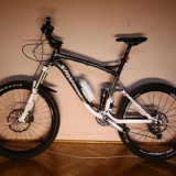 bicicleta MTB full-suspension All Mountain steppenwplf tycoon cr 150