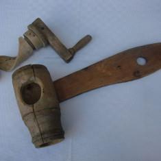 Piesa rustica din lemn - inceput de secol 20 - Arta locala