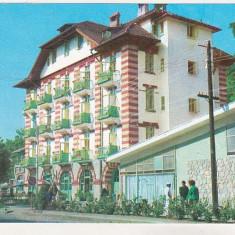 Bnk cp Calimanesti - Vila Carpati - circulata - Carte Postala Oltenia dupa 1918, Printata