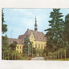 Bnk cp Deva - Vedere din parc - circulata - marca fixa - Carte Postala Transilvania dupa 1918, Printata