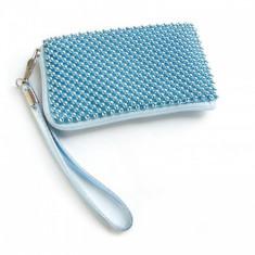 Husa Sony Ericsson Xperia Play Aluminium Baby Blue Size L - Husa Telefon, Textil