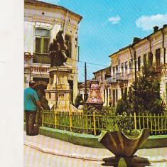 Bnk cp Odobesti - Monumentul eroilor - circulata - marca fixa - Carte Postala Moldova dupa 1918, Printata