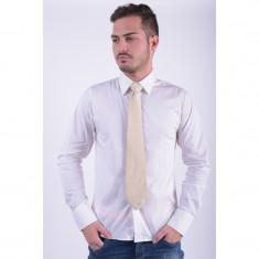 Cravata Matase Selected Examen Bej - Papion Barbati