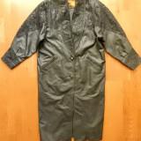 Palton Outbrook din piele naturala; marime L, vezi dimensiuni exacte; ca nou - Palton dama, Marime: L, Culoare: Din imagine