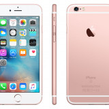 IPhone 6S Rose Gold NOU 128GB Liber de retea Cutie Sigilata - Telefon iPhone Apple, Roz, Neblocat