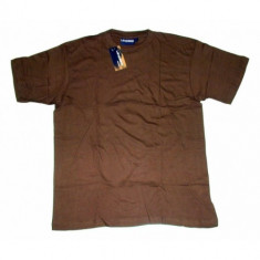Tricou bumbac Levinsson Coffee Brown - Tricou barbati