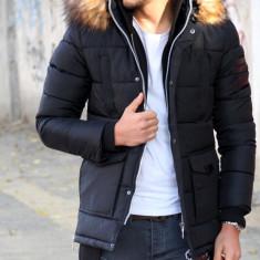 Geaca iarna neagra - geaca barbati - 9391 L3, Marime: XL, XXL, Culoare: Din imagine