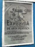 Expozitia scolara internationala de arta plastica Galati - Crucea Rosie RPR 1957
