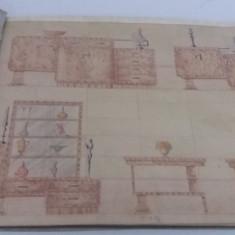 ALBUM MOBILĂ *CASA DE MOBILE*CUM SĂ FIE CĂMINUL MEU* BRAȘOV /1931 - Carte veche