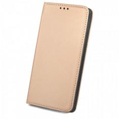 Husa piele Sony Xperia XA1 Case Smart Magnet Aurie - Husa Tableta