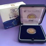 """ITALIA 2015 2 Euro Comemorativ """"30th European Union Flag"""" Proof, Europa"""