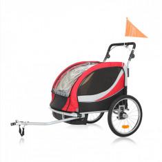 NOU! Remorca bicicleta Samax Premium, Rosu