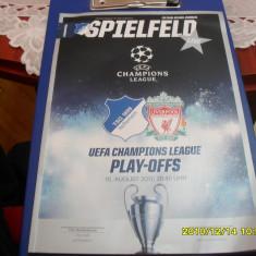 program    TSG  Hoffenheim  -  Liverpool