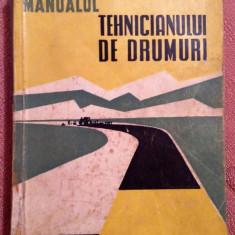 Manualul Tehnicianului De Drumuri - Ing. N. Badoiu, Ing. N. Teodorescu - Carti Transporturi
