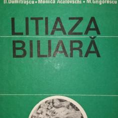 D. DUMITRASCU - M. ACALOVSCHI - M. GRIGORESCU - LITIAZA BILIARA