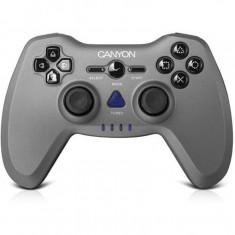 Gamepad wireless Canyon 3 in 1 CNS-GPW6, fara Fir, PC, PlayStation 3, PlayStation 2, Gri