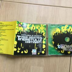 Hiturile 2007 mega discoteca tineretului costinesti kiss fm cd disc muzica house - Muzica Pop roton