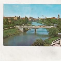 Bnk cp Oradea - Pod peste Crisul Repede - circulata - Carte Postala Crisana dupa 1918, Printata