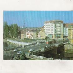 Bnk cp Oradea - Vedere din centru - circulata - Carte Postala Crisana dupa 1918, Printata