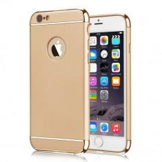 Husa telefon Iphone 6PLUS/6SPLUS ofera protectie 3in1 Ultrasubtire  - Gold, iPhone 6 Plus, Auriu, Plastic