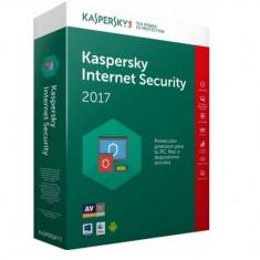 Licenta Kaspersky Internet Security 2017 1 an plus 3 luni gratuite 3 PC Licenta Noua Retail + Upgrade gratuit la versiunea 2018 - Antivirus