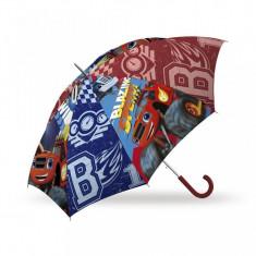 Umbrela automata Blaze si Masinile Uriase 85 cm - Umbrela Copii