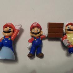 Lot 3 figurine Super Mario (Nintendo)(McDonalds) - McDonalds jucarie