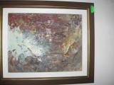 Tablou peisaj de toamna, Natura statica, Ulei, Impresionism