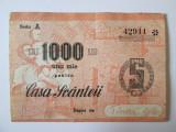 Romania 1000 Lei Casa Scanteii 1950