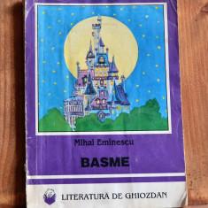 Carte - Basme - Mihai Eminescu ( Colectia: Literatura De Ghiozdan Nr.30 ) #184