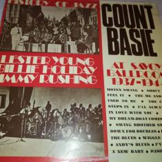 HISTORY OF JAZZ -LESTER YOUNG, BILLIE HOLIDAY, JIMMY RUSHING 1937-1944 - Muzica Jazz emi records, VINIL