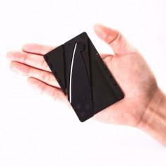 Briceag in forma de credit card pentru portofel - Briceag/Cutit vanatoare