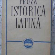 Proza Istorica Latina - Caesar Sallutius Titus Livius Quintus Curtius Taci,406198