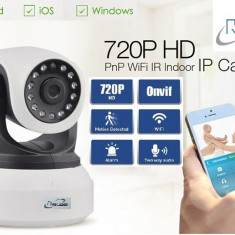 Camera IP Wireless / WIFI IR supraveghere Relee rotativa cu alarma HD