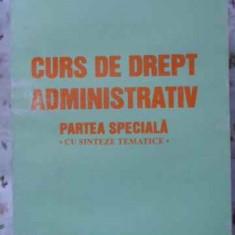 Curs De Drept Administrativ Partea Speciala Cu Sinteze Temati - Mircea Preda, 406225 - Carte Drept penal