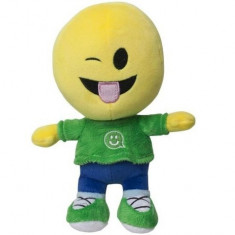 Figurina de plus Emoticon emoji se Stramba 21 cm