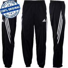 Pantalon Adidas Sereno pentru barbati - pantalon original - pantaloni conici - Pantaloni barbati Adidas, Marime: M, Culoare: Negru, Lungi, Poliester