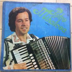 Petre mihalcea disc vinyl lp acordeon muzica populara folklor romanesc, VINIL, electrecord