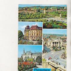 Bnk cp Oradea - Vedere - circulata - marca fixa - Carte Postala Crisana dupa 1918, Printata