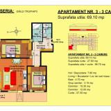 3 camere Brasov - Apartament de vanzare, 69 mp, Numar camere: 3, An constructie: 2018, Parter
