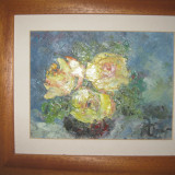 Tablou, Flori, Ulei, Impresionism