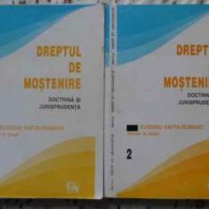 Dreptul De Mostenire Doctrina Si Jurisprudenta Vol.1-2 - Eugen Safta-romano, 406181 - Carte Drept penal
