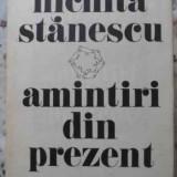 Amintiri Din Prezent - Nichita Stanescu, 406193 - Roman